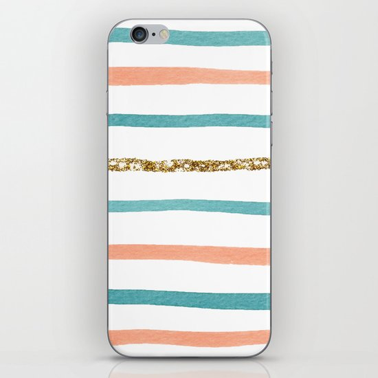 Sparkle Stripe iPhone & iPod Skin