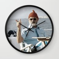LIFE AQUATIC Wall Clock