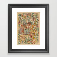 - Schematic - Framed Art Print