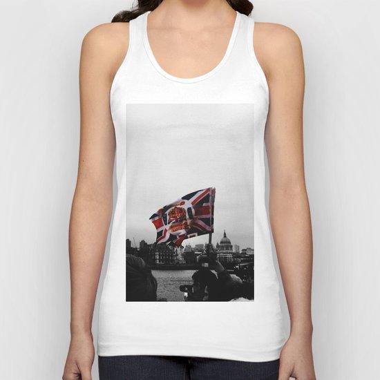 Jubilee Flag Unisex Tank Top