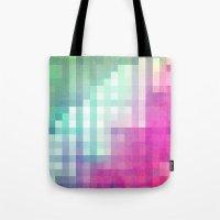 Pixel 3 Tote Bag