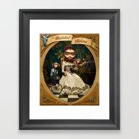 Bearded Helena Framed Art Print