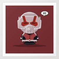 ChibizPop: Ant Art Print