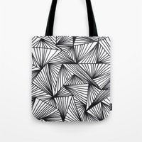 TriangleAngle Tote Bag