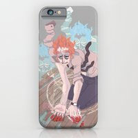 iPhone & iPod Case featuring here comes the beast by Bridget Willoughby