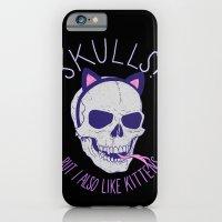 Skulls and Kittens iPhone 6 Slim Case