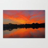 Lafayette River Sunset Canvas Print