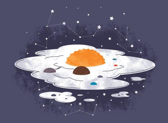 egg dimension Canvas Print