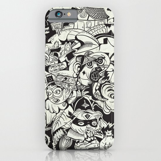 Cicrle Doodle iPhone & iPod Case