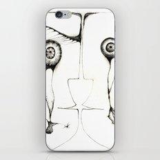 Fales mirror iPhone & iPod Skin