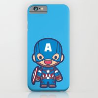 iPhone & iPod Case featuring Captain by Papyroo