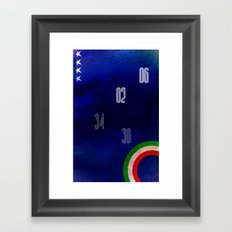 Italy World Cup Framed Art Print
