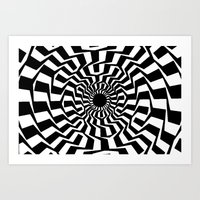 Illusion Art Print