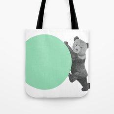 peppermint bear Tote Bag