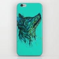 Sea Fox In Aqua iPhone & iPod Skin