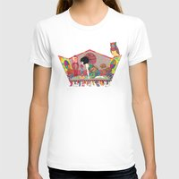 My sweet boy Womens Fitted Tee White SMALL