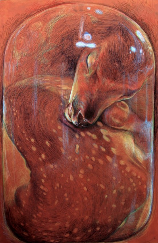 Deerjar Art Print