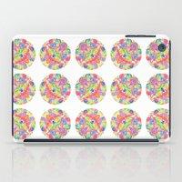 Kaleidoscopic Circles iPad Case