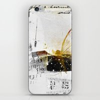 size matters iPhone & iPod Skin