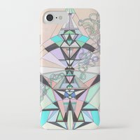 aztec iPhone & iPod Cases featuring Aztec by QUEQZZ