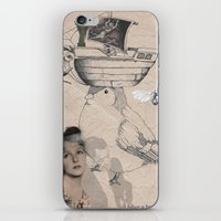 Future is in your head iPhone & iPod Skin