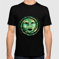 MASKED Mens Fitted Tee Black X-LARGE