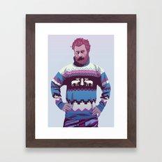 80/90s - Trmd Framed Art Print
