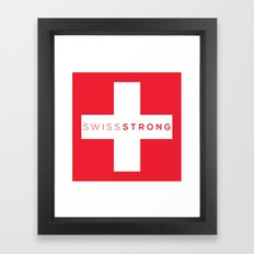 Swiss Strong Framed Art Print