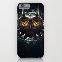 iPhone Cases featuring Epic Pure Evil of Majora's Mask by Barrett Biggers