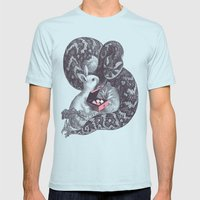 Cupcake? Mens Fitted Tee Light Blue SMALL