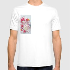 Spring Mens Fitted Tee SMALL White