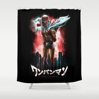 Saitama Is The Epic One … Shower Curtain