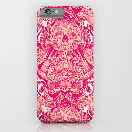 wallpaper skulls iPhone & iPod Case