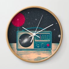 Space Radio Wall Clock