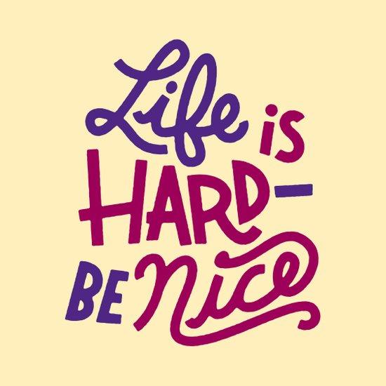 Be Nice II Art Print