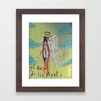 Angel of Death Framed Art Print
