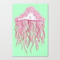 Mint Jelly Canvas Print