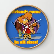 Friends Come in All Sizes! Wall Clock