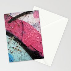 Pink Curve Stationery Cards