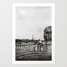 Timeless Paris Art Print