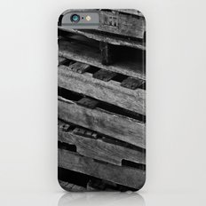 Abstract Wooden Pallets Slim Case iPhone 6s