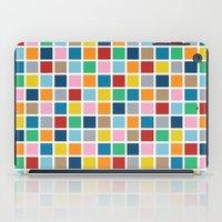 Colour Block Outline iPad Case