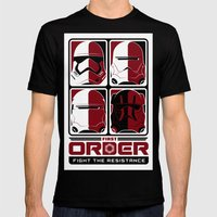 The First Order Mens Fitted Tee Black SMALL