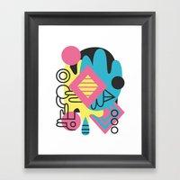 Espectre (#1) Framed Art Print