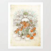 Salsacrifice! Art Print