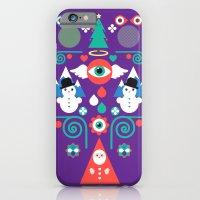 Christmas - Purple Pop iPhone 6 Slim Case