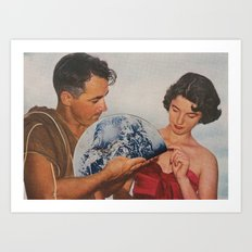 Collage 56 Art Print