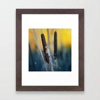 Typha Framed Art Print