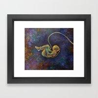 Viaje Al Espacio 1  Framed Art Print