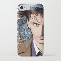 doctor who iPhone & iPod Cases featuring Doctor Who by SRB Productions
